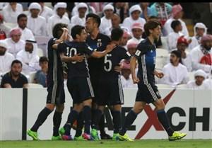 پیروزی مهم ژاپن در خاک امارات