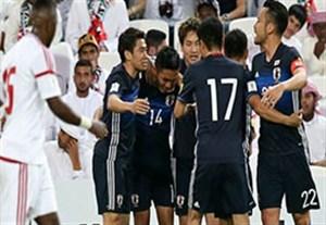 خلاصه بازی امارات 0-2 ژاپن