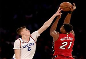 خلاصه بسکتبال نیویورک نیکس 88-105 میامی