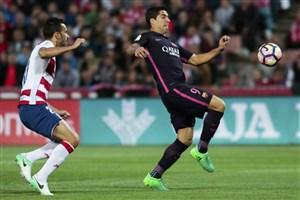 گرانادا 1-4 بارسلونا: تعقیب ادامه دارد