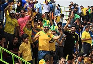 گفتگو با صالحی در مورد بخشش هواداران صنعت نفت آبادان