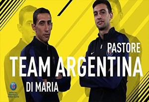 چالش FIFA17 بازیکنان پاری سن ژرمن
