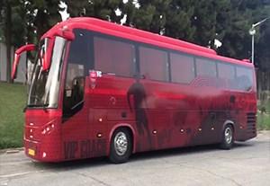 رونمایی از اتوبوس جدید پرسپولیس