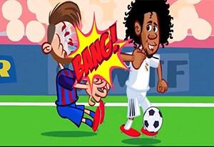 انیمیشن انتقام مسی از مارسلو به سبک بروس لی