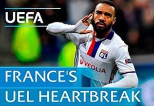 لیون به دنبال پایان عدم قهرمانی فرانسوی ها در لیگ اروپا