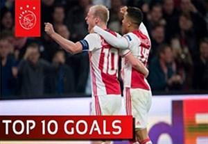 10 گل برتر آژاکس در لیگ اروپا