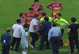 حرکت عجیب سعداوی و بازیکنان فولاد در آخرین هفته لیگ برتر