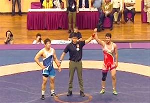کسب مدال طلا توسط رامین طاهری در قهرمانی آسیا
