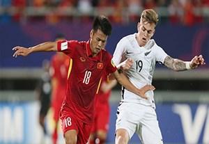 خلاصه بازی ویتنام 0-0 نیوزلند