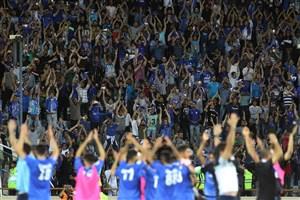 استقلال پرتماشاگرترین تیم در لیگ قهرمانان آسیا