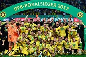 دورتموند فاتح DFB Pokal شد