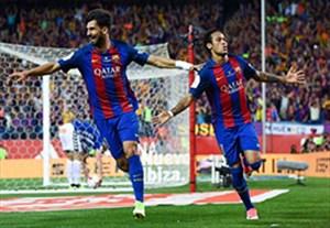 خلاصه بازی بارسلونا 3-1 آلاوس (قهرمانی بارسلونا)