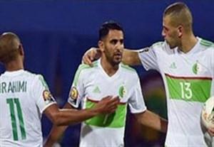گلهای بازی الجزایر 2-1 گینه