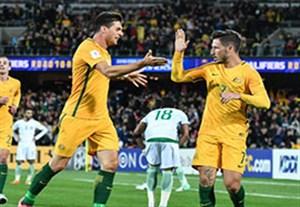 گلهای بازی استرالیا 3-2 عربستان