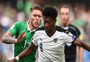 خلاصه بازی جمهوری ایرلند 1-1 اتریش (پاس گل آلابا)