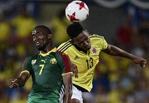 گلهای بازی کامرون 0-4 کلمبیا