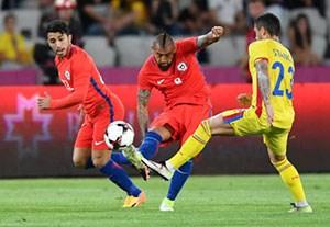 خلاصه بازی رومانی 3-2 شیلی