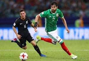 خلاصه بازی مکزیک 2-1 نیوزلند