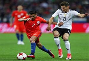 خلاصه بازی آلمان 1-1 شیلی