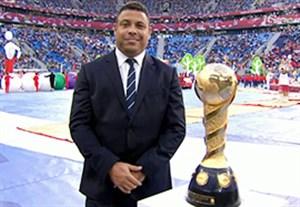حمل کاپ قهرمانی جام کنفدراسیون ها توسط رونالدو