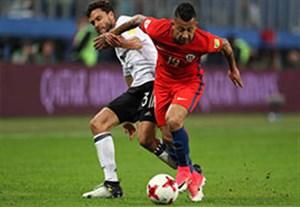 خلاصه بازی آلمان 1-0 شیلی