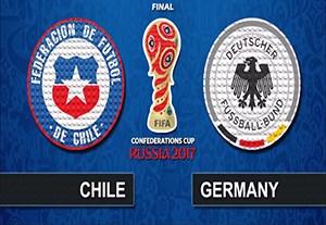 شبیه سازی بازی آلمان - شیلی با لگو