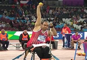 کسب مدال طلای مختاری و برنز عظیمی در پرتاب وزنه معلولین جهان