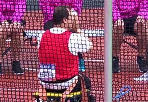 کسب مدال نقره صالح فرج زاده در پرتاب دیسک معلولین جهان