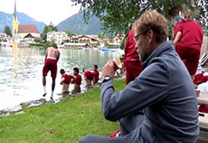 ریکاوری جالب بازیکنان لیورپول در آب سرد