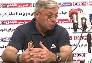 مصاحبه های بعد از بازی پدیده - سپاهان