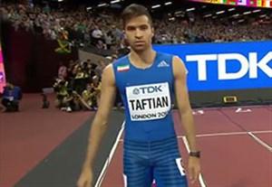 رقابت حسن تفتیان با اوسین بولت در مسابقات قهرمانی جهان