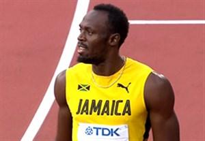 مقام دوم اوسین بولت در نیمه نهایی دوی 100 متر جهان
