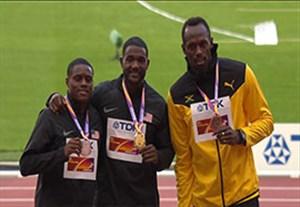 آخرین مدال اوسین بولت در دوی 100 متر جهان