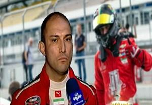 میثم طاهری تنها راننده ایرانی مسابقات ناسکار