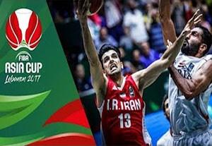 خلاصه بسکتبال سوریه 63-87 ایران