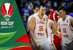 خلاصه بسکتبال چین 81-79 سوریه