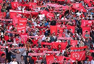 تشویق زیبای هواداران تراکتورسازی بعد از اولین پیروزی تیمشان