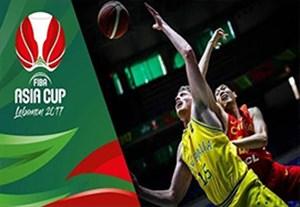 خلاصه بسکتبال استرالیا 97-71 چین