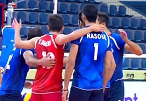خلاصه والیبال ایران 4-0 چین (زیر 23 سال جهان)