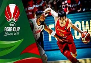 خلاصه بسکتبال لبنان 78-79 چین