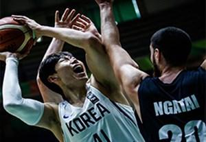 خلاصه بسکتبال کره جنوبی 80-71 نیوزلند