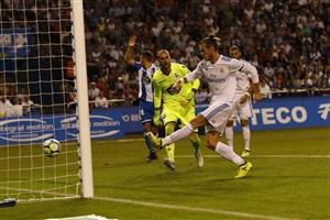 دپورتیوو لاکرونیا 0-3 رئال؛ جای رونالدو خالی نبود