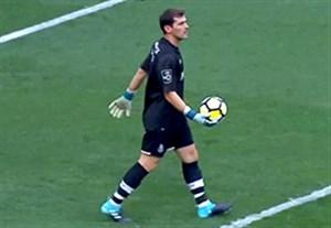خلاصه بازی پورتو 3-0 موریرنس (دروازه بانی کاسیاس)