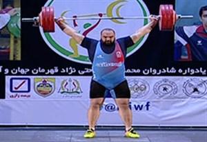 شروع بهداد سلیمی در لیگ وزنه برداری با مهار وزنه 190 کیلوگرمی