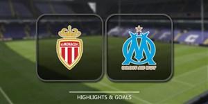 گلهای بازی موناکو 6-1 مارسی