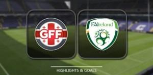 خلاصه بازی گرجستان 1- 1 جمهوری ایرلند