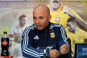 سامپائولی فعلا سرمربی آرژانتین می ماند