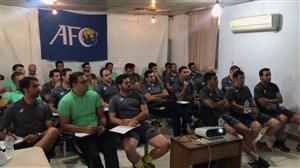حضور علی کریمی و پرسپولیسیهای سابق در کلاس مربیگری (ویدیو اختصاصی)