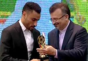 علی اصغر حسن زاده بهترین بازیکن فوتسال در سال 95