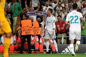 رئال مادرید 3-0 آپوئل؛ رونالدو با گل برگشت